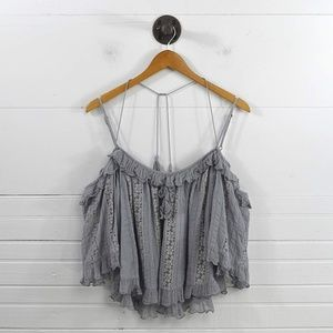 FREE PEOPLE OFF-THE-SHOULDER TOP #131-221